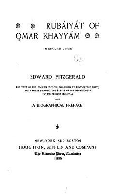 Rub  iy  t of Omar Khayy  m PDF