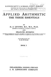 Applied Arithmetic: The Three Essentials, Volume 1