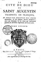 La Cité de Dieu de saint Augustin, traduite en françois (par Pierre Lombert) et revue sur plusieurs anciens manuscrits...