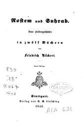 Rostem und Suhrab: Eine Heldengeschichte in zwoelf Buechern