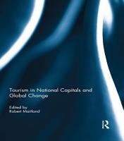 Tourism in National Capitals and Global Change PDF