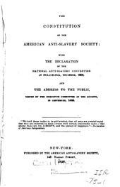 Collection of Writings on the Slavery Question