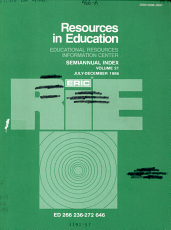 Resources in Education PDF