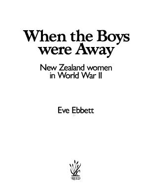 When the Boys Were Away