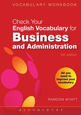 Check Your English Vocabulary for Business and Administration PDF