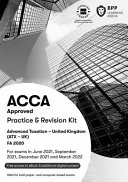 ACCA Advanced Taxation FA2020