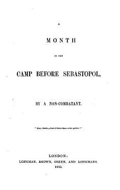 A month in the camp before Sebastopol PDF
