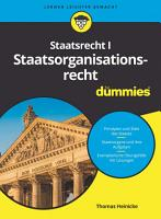 Staatsorganisationsrecht I f  r Dummies PDF