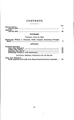 Oversight of the Public Company Accounting Oversight Board PDF
