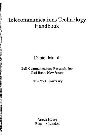 Telecommunications Technology Handbook PDF