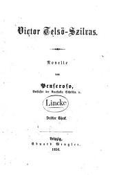 Victor Telsö-Szilvas: Novelle, Band 3