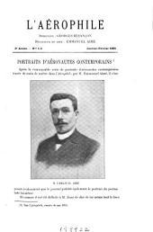 L'Aʹerophile: revue technique et pratique de la locomotion aʹerienne, Volume3