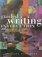 Guided Writing Instruction PDF