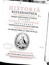 Historia ecclesiastica per annos digesta: Volume 5
