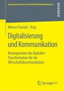 Digitalisierung und Kommunikation PDF