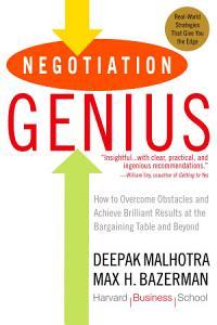 Negotiation Genius Book