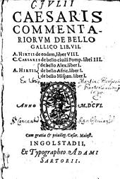 Commentarii de bello gallico: lib. VIII.