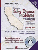 How to Solve Divorce Problems in California...In Or Out of Court!