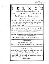 A Sermon preached ... June 7, 1787, etc