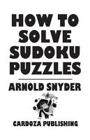 How to Solve Sudoku Puzzles PDF