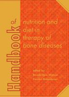 Handbook of nutrition and diet in therapy of bone diseases PDF