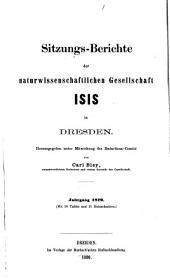 Sitzungsberichte und Abhandlungen: 1879-1883