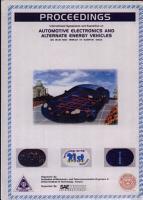 Proceedings of the International Symposium and Exposition on Automotive Electronics and Alternate Energy Vehicles  November 19 21 1999 PDF