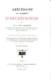 Abécédaire ou rudiment d'archéologie: Volume2