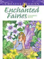 Creative Haven Enchanted Fairies Coloring Book
