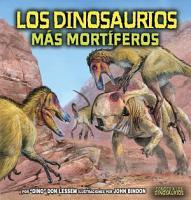 Los dinosaurios m  s mort  feros  The Deadliest Dinosaurs  PDF