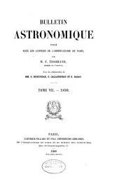 Bulletin astronomique: Volume7