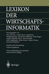 Lexikon der Wirtschaftsinformatik: Ausgabe 3