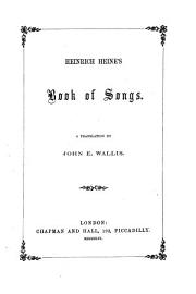 Heinrich Heine S Book Of Songs