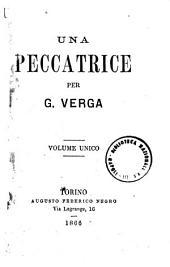Una peccatrice per G. Verga