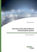 Next Generation Optical Wireless Communication Systems PDF
