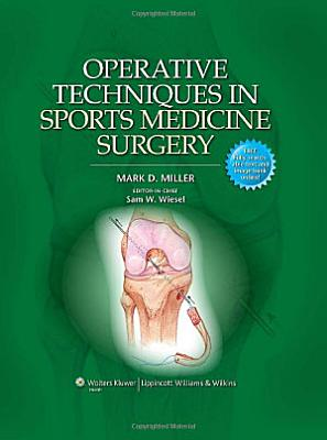 Operative Techniques in Sports Medicine Surgery PDF
