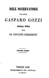Vita del Conte Gasparo Gozzi