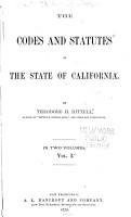 The Codes and Statutes of the State of California PDF