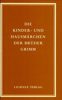 Kinder  und Hausm  rchen der Br  der Grimm PDF