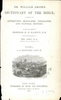 Dr  William Smith s Dictionary of the Bible PDF