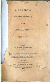 A Sermon Preached at Byfield, on the Annual Fast, April 11, 1811