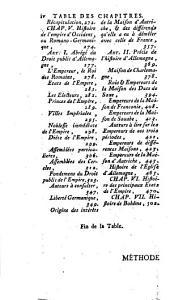 Méthode pour étudier l'histoire: avec un catalogue des principaux historiens : accompagné de remarques sur la barté de leurs ouvrages &c sur le choix des meilleurs éditions, Volume7