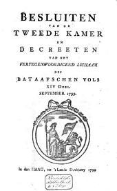 Besluiten van de Tweede Kamer en decreeten van het Vertegenwoordigend Lichaam des Bataafschen Volks: Volume 7