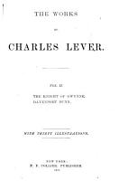 The Works of Charles Lever  The Knight of Gwynne   Davenport Dunn PDF