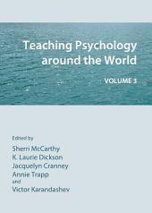 Teaching Psychology around the World: Volume 3, Volume 3