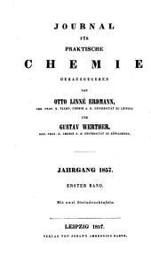 Journal Fur Praktische Chemie