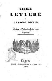 Ultime lettere di Jacopo Ortis 3Ugo Foscolo ́