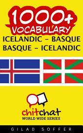 1000+ Icelandic - Basque Basque - Icelandic Vocabulary