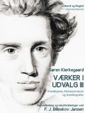Værker i udvalg 3 - Prædikanten, Kirkestormeren og Autobiografen