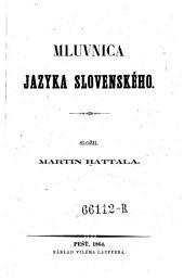 Mluvnica Jazyka Slovenskeho